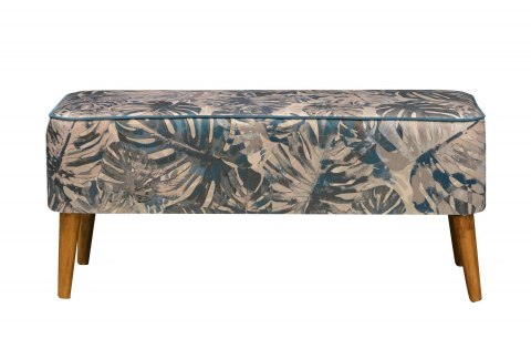 Bench Monstera Blue