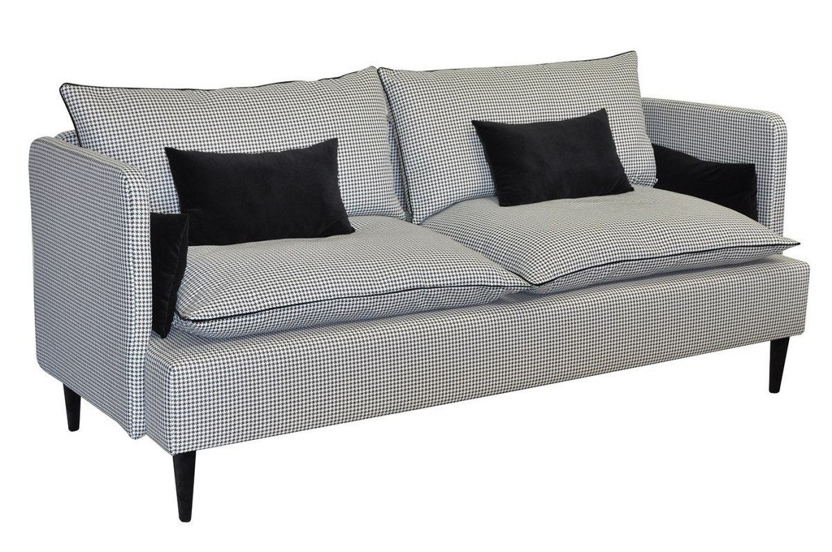 Sofa Floxy houndstooth
