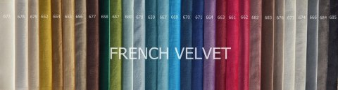 Tkanina French Velvet