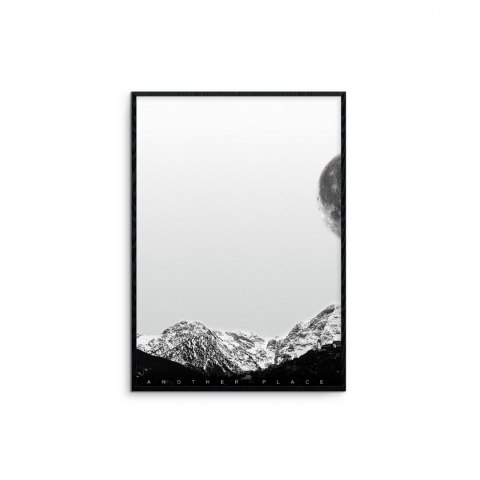 "Framec graphics ""mountains - white"""