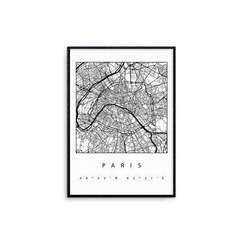 "Framed graphics ""Paris"""