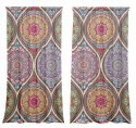 Cotton curtains Arabesque
