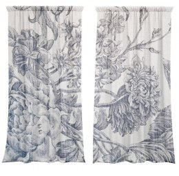 Cotton curtains Nature