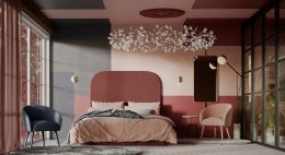 Headboard PLUM color