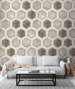 Wallpaper wall HONEYCOMB