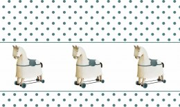Eco Kids Wallpaper Rocking Horse